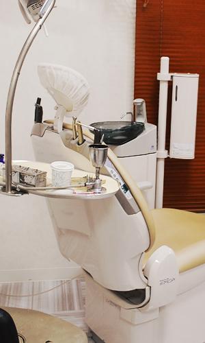 リラックスできるアットホームな歯科診療所